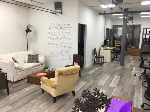 Bespoke new office