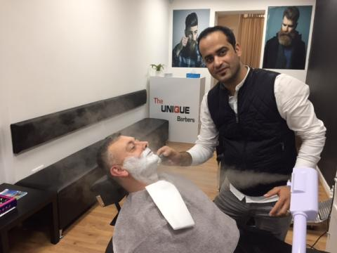A close shave by Ali Yazdi