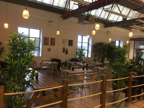 Loft coffee shop, springfield mill