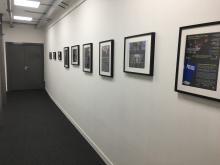 Corridor to unit
