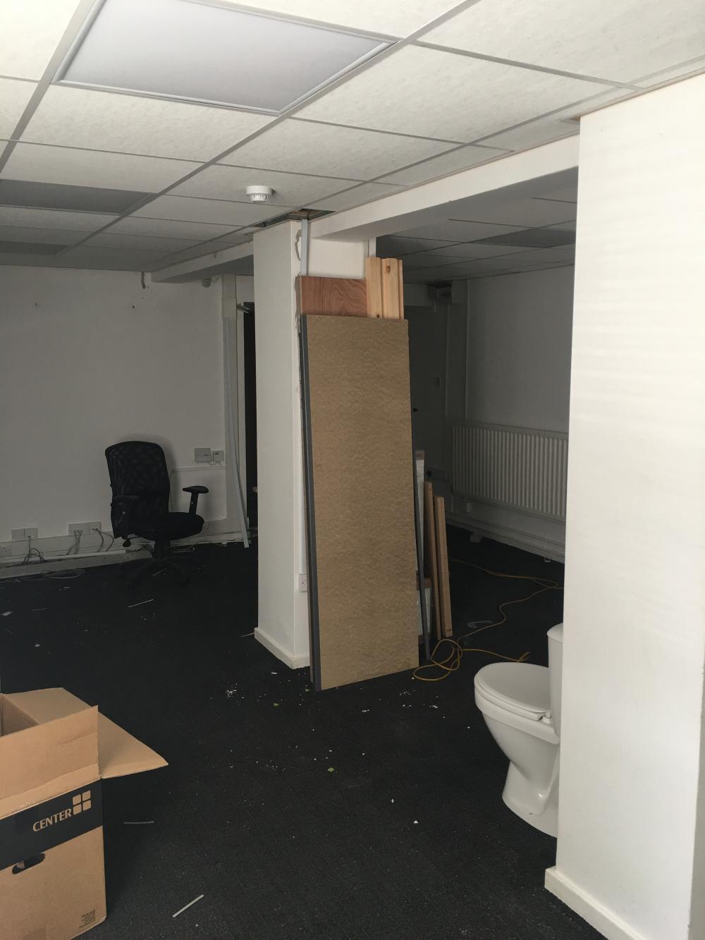 Unit 7, refurbish works in full swing